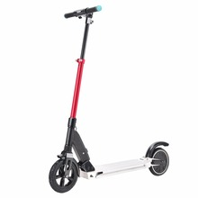 China cheap price light weight 250W Brushless LCD display Alloy Frame 2 wheel folding electric kick scooter for adult