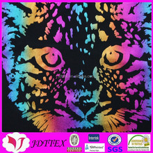 2015 New develop foil printing fabric foil finsh nylon lycra fabric