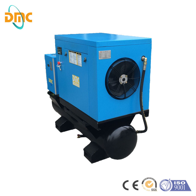 Industrial Laser Cutting Max. 1.6Mpa High Pressure Screw Air Compressor, Ultra Silent European Air End