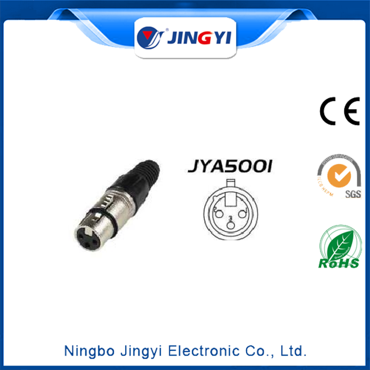 3Pin Female Cable MT XLR/xlr connector wiring/3 pin xlr