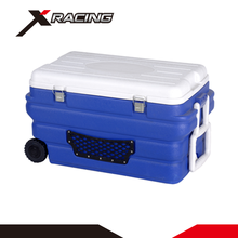 Xracing NMCB0103 Multifunction 90L keep cold heat preservation food plastic camping cooling cooler box with wheels