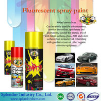 all colors Fluorescent spray paint