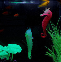 Glowing Effect Environmentally Friendly Material No Odor Aquarium Fish Tank Decorations Artificial Simulation Hippocampus