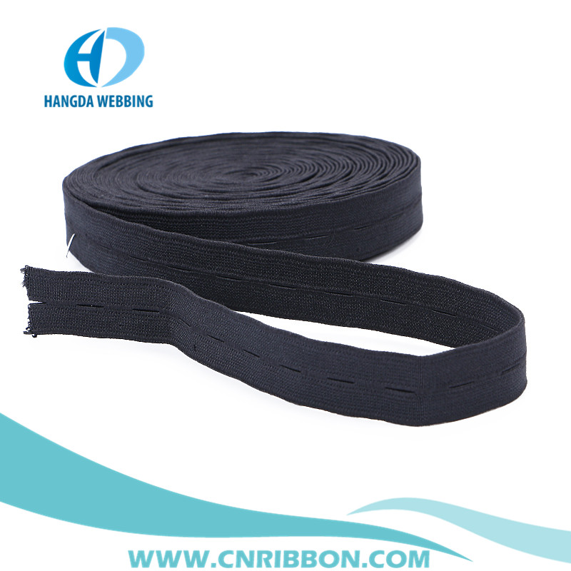 wholesale buttonhole woven Elastics band factory price