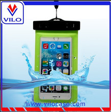 universal 5.7inch PVC swimming waterproof pouch for iphone