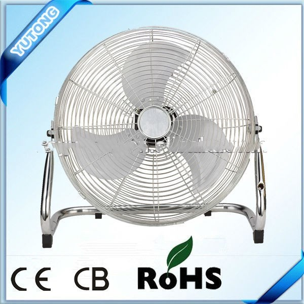 Home use 14/18/20 inch powerful metal air cooling floor fan with factory price