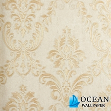 2012 new style gold foil wall fabric