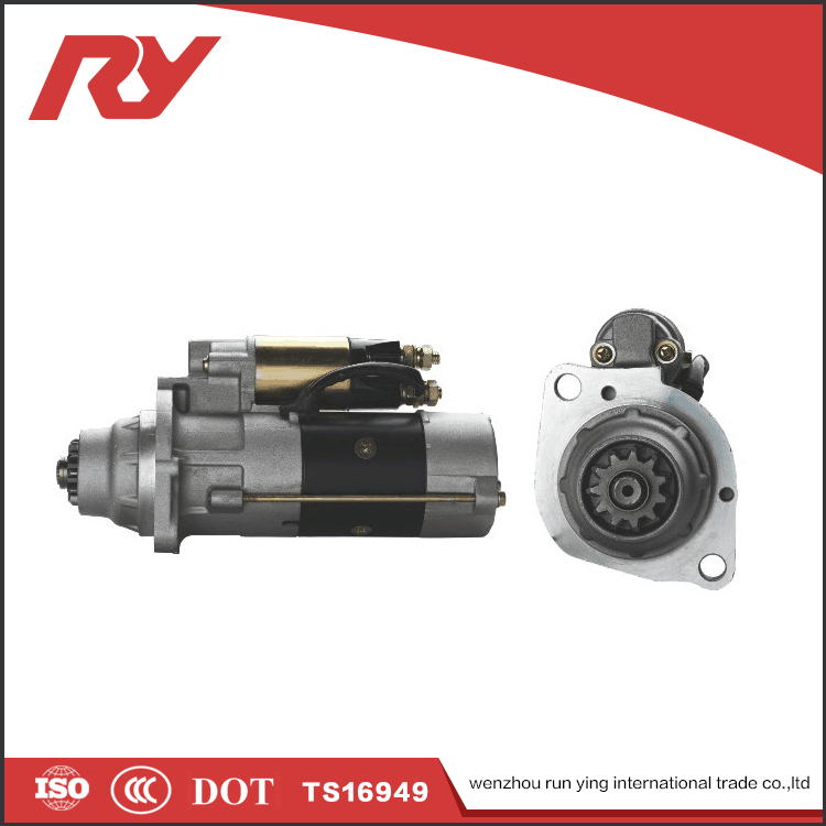 RUNYING Import China Goods Truck Starter Motor 24V 6.0KW 11T For MITSUBISHI