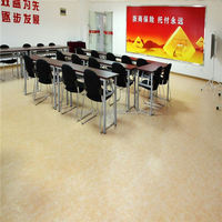 Temperature resistance wood texture vinyl sheet, pvc roll floor with CE/ISO