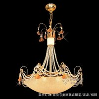 Factory Direct Indoor Lighting Gold Crystal