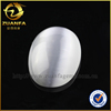 white oval shape synthetic cat eye stone for jewelry making
