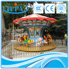 Amusement park equipment merry go round carousel for sale