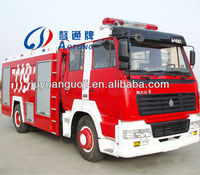 2000L-5000L Dongfeng water tank foam tank fire truck trailer with high quality