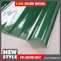 Wholesale plastic material properties of FRP lighting sheet