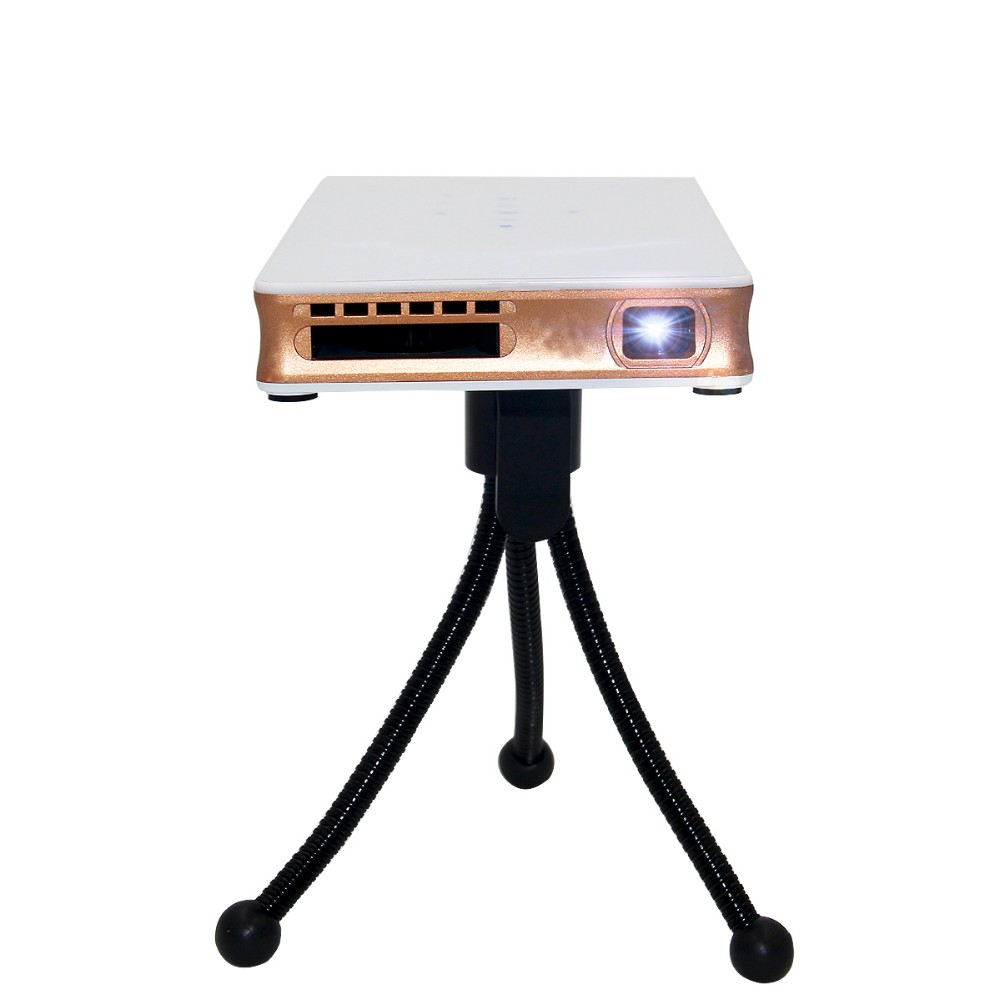 Factory Direct interactive dlp Mini Projector Portable Wifi Project DLNA Android OS
