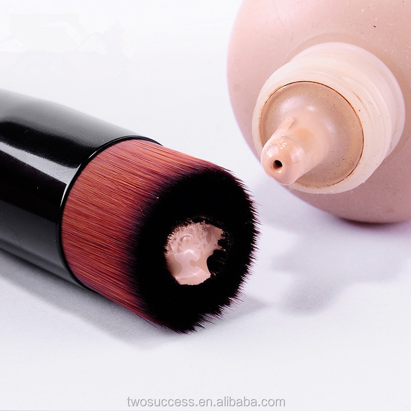Brand New Soft Makeup Wood Groove Liquid FoundationBrush Fiber Brush BB Brush
