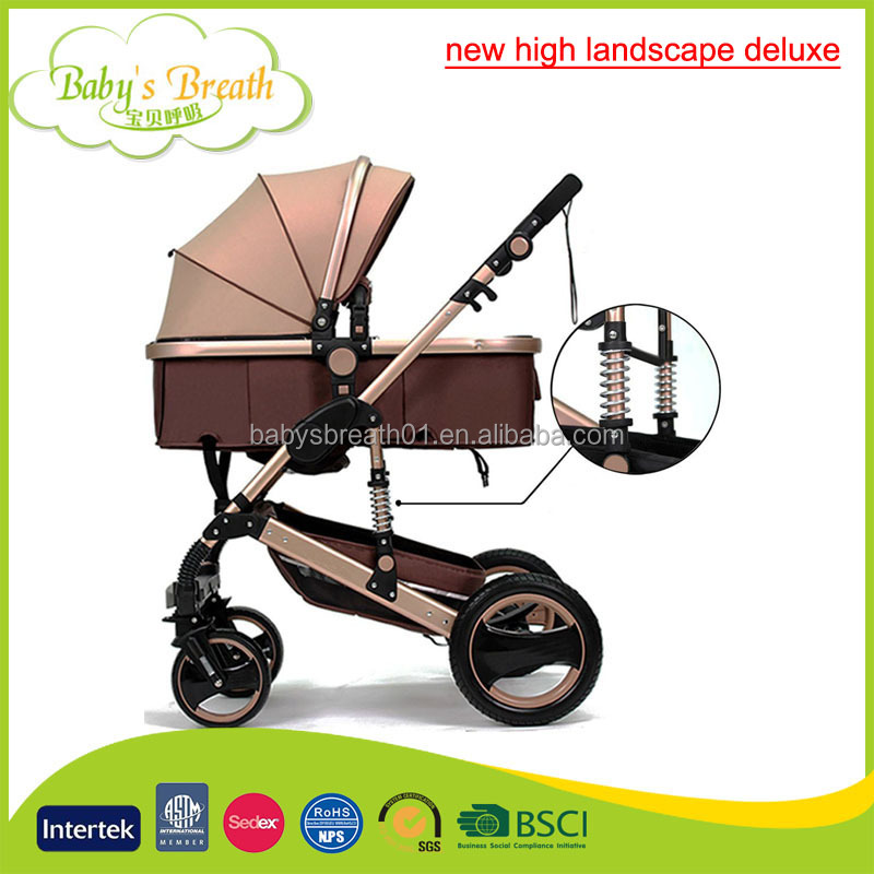 BS-24A new high landscape deluxe baby jogger baby doll stroller 3in1