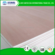 commercial plywood 3-18mm Okoume and bintangor plywood