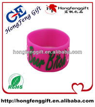 2014 hot sell silicone armband for NIKE ,ADIDAS ,PUMA with custom design