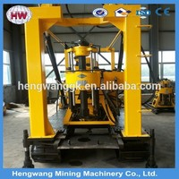 180m borehole diesel engine water well drilling rig machine