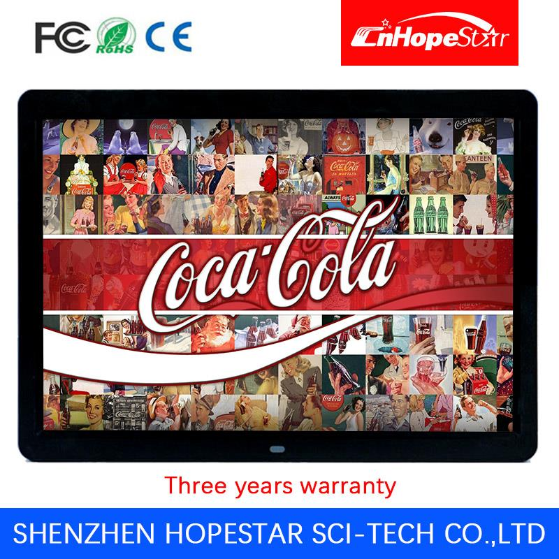 Motion Activated lcd digital signage display 10 inch video advertising media player