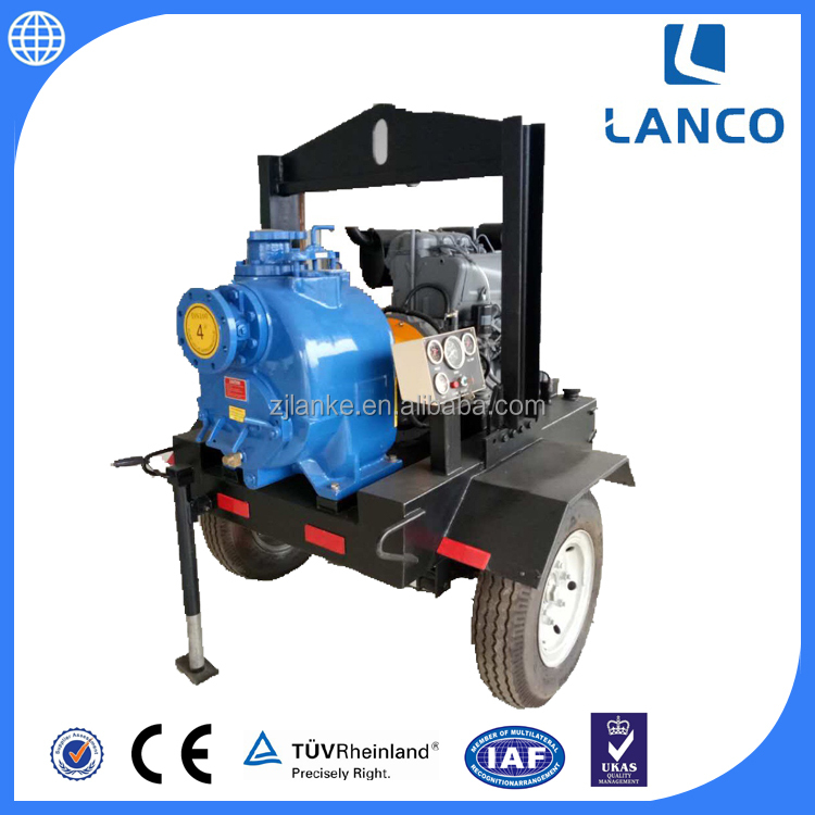 P Type Non Clogging Self Priming Hydraulic Pump