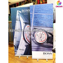 Advertising shop banner sign display, promotional roll up banner