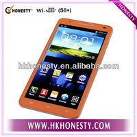 6 inch Capacitive Touch Panel Smartphone with dual sim cards S9300 mtk6577 dual core android 4.1 OS with 1G RAM and 4G ROM 3g