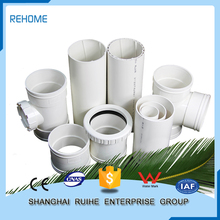 Durable China supplier pvc pipe fitting high pressure pipes for water
