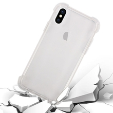 free shipping sample New Products Shock-proof Transparent Cushion TPU soft Protective blank phone Case For iPhone X 8 plus