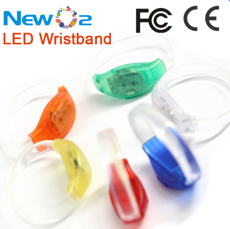 Made In China Best Selling Products Function developed Party Accessories LED Voice Activated Bracelet For Party Supplies