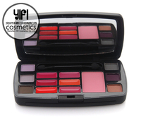 Travel makeup boxes for blusher,eyeshadow,lip gloss,contour makeup sets