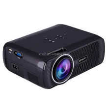 Free sample Uhappy U80 Portable Home Theater 1080P LED HD Mini Digital Projector