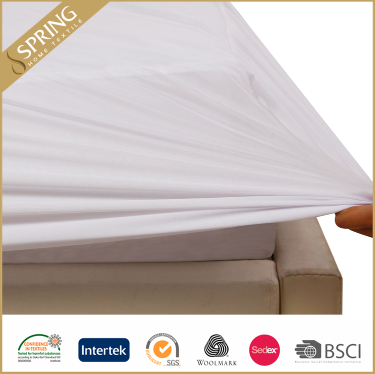 waterproof double box breathable mattress cover