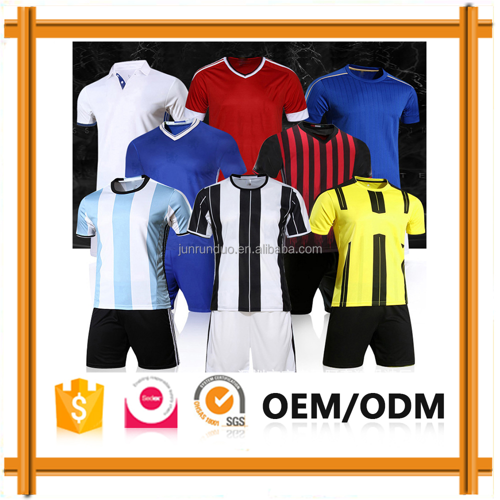 Adults Soccer Uniform Men, American Football Jersey New Model, Kids Soccer Jersey 2017 Sets