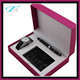 2017 Ladies watch gift sets with CE&Rhos certification include pen and wallet hot sale in France and American