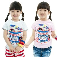 New Factory Summer Kids Wholesale Oem Children T Shirt From China