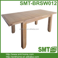 Large Extending Solid Wood Oak Dining Table