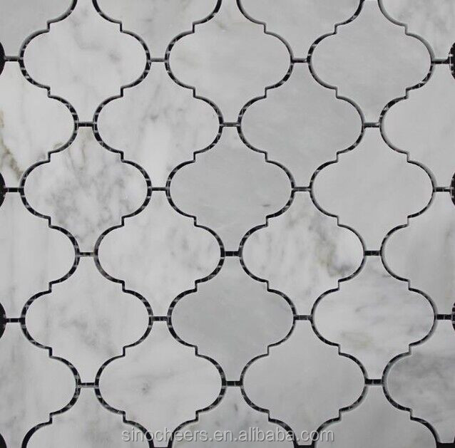 de carrelage en pierre naturelle marbre lanterne arabesque carrelage mosa que mosa que id de. Black Bedroom Furniture Sets. Home Design Ideas