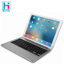For iPad Pro Rotating Plastic Bluetooth Keyboard Case 12.9 inch Full Size Big Keypad Keyboard With Rotating Docking