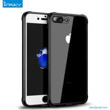 Ipaky Wholesale Shell 360 Full Mobile Back Cover Clear Tpu Cell Phone Case For Iphone 8 8Plus