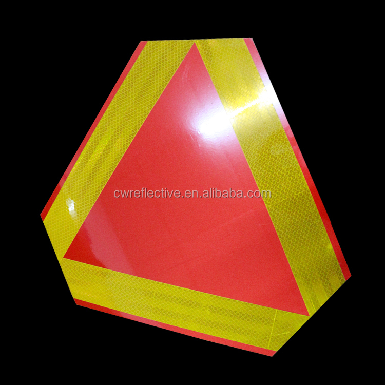 New design safety reflective sticker for basic traffic sign and kids