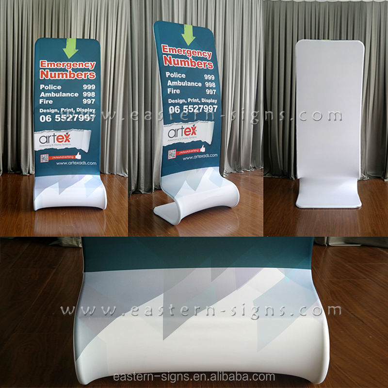 Large Free Standing Advertising Poster Board