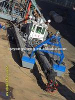 china low price cutter suction dredger boat for sale