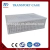 best selling tranport cage for animal with free spare parts chicken transport basket