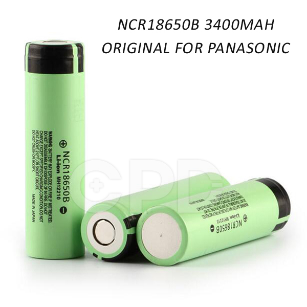 Original NCR18650B Battery 3.7v 3400mah li-ion battery cells for e-cigarette