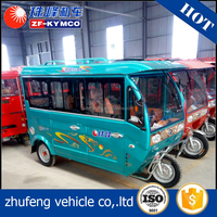 EEC Approved enclosed gasoline powered motor tricycle