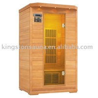 far infrared sauna cabin FIS-02LC with cedar material and Oxygen bar