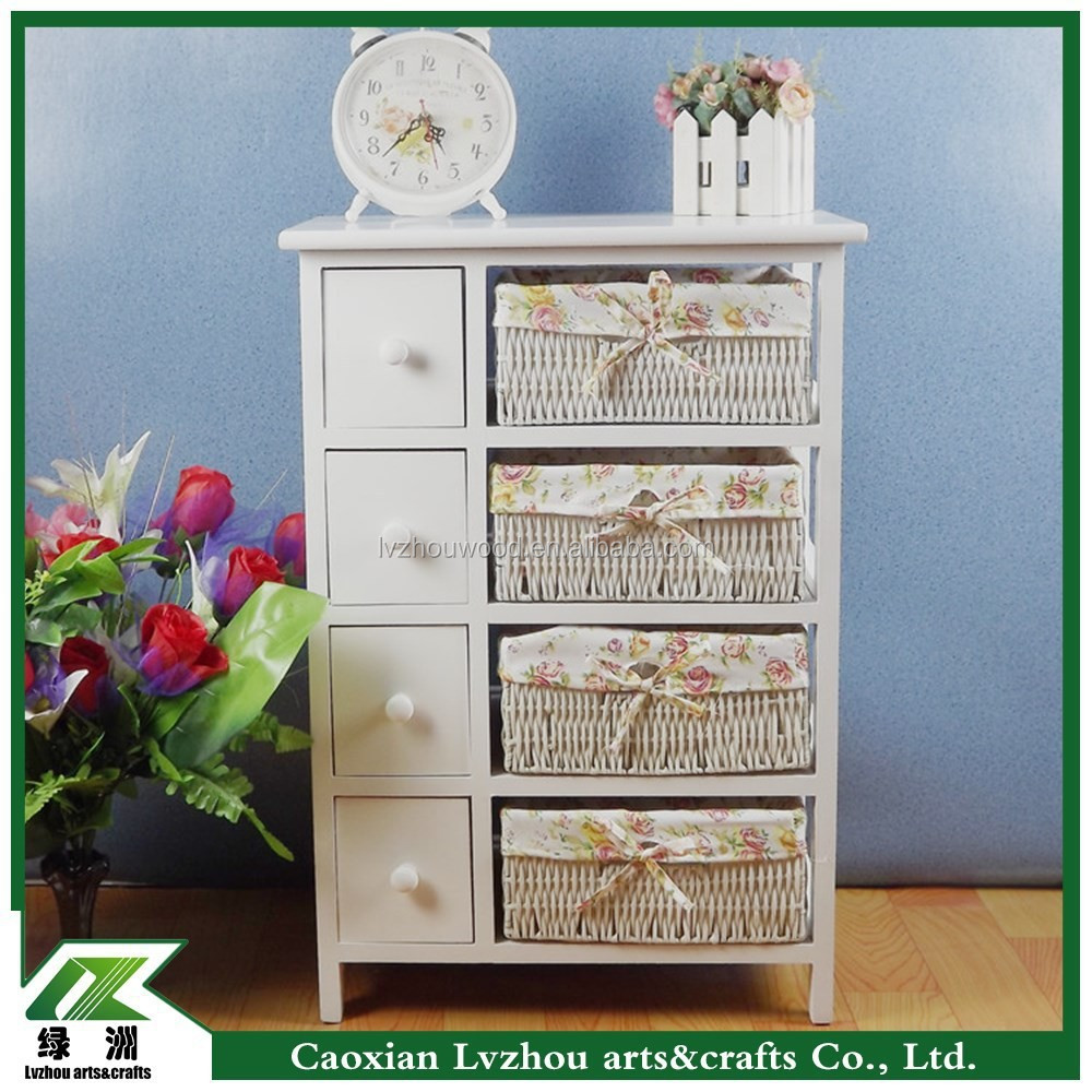 Wood Furniture , Wooden Storage Cabinet with Drawers