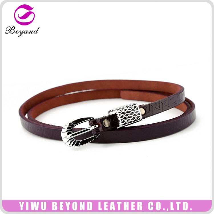 Factory directly quality assured real leather belt for women wholesale price